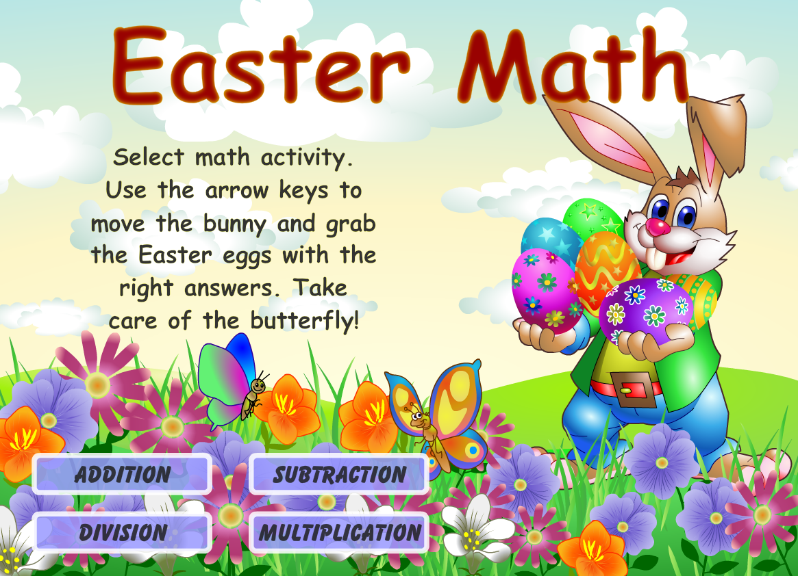 Charming Easter Word Hunt