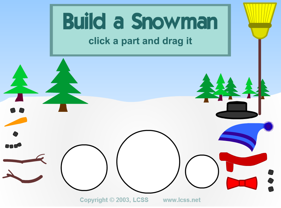 Technology rocks seriously snow fun resources 2016 Create a house game