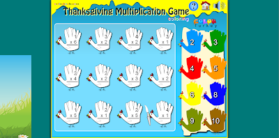 http://www.softschools.com/themes/thanksgiving/games/thanksgiving_multiplication_games/thanksgiving_multiplication_game.swf