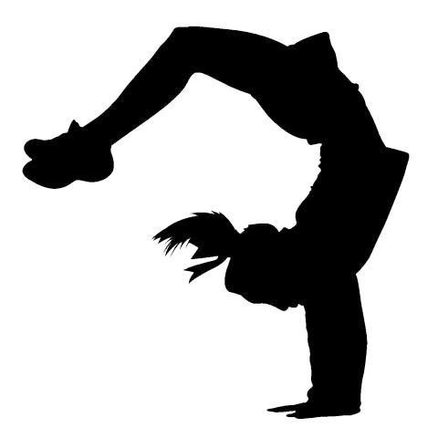Image result for cheerleading silhouette