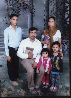 Pastor David and family (a few years ago)