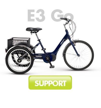 IZIP E3 Go Trike
