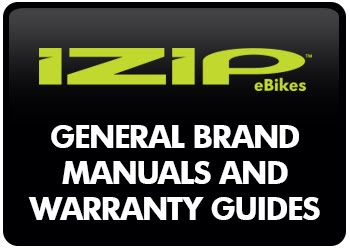 IZIP Manuals and Warranty Guides