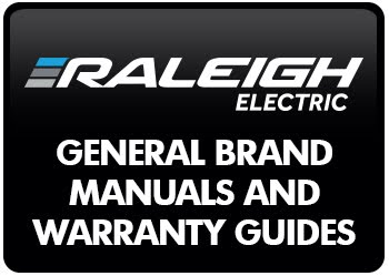 Raleigh Electric Brand Manuals and Warranty Guides