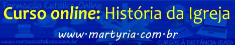 Curso de História da Igreja via internet
