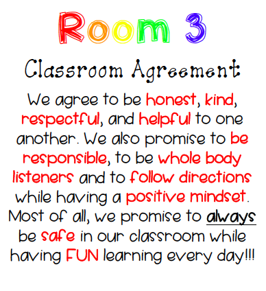 Classroom Policies School Rules Ms Wubkers Class