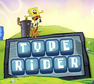 http://www.nickjr.com/games/data/spongebob/spongebob-type-rider/spongebob_typing.swf