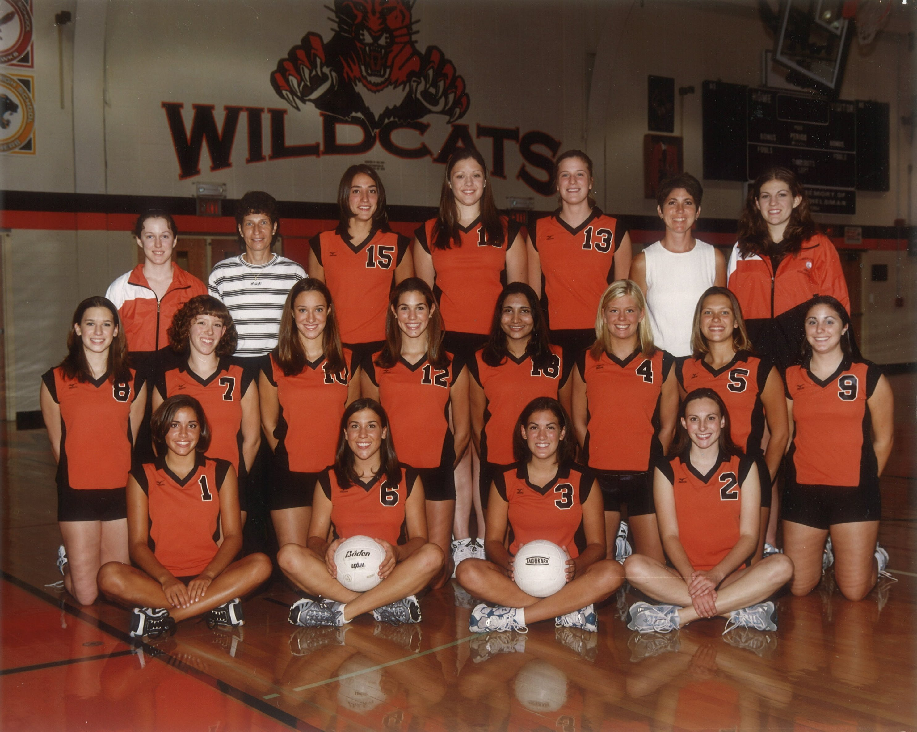 2002 Varsity Volleyball team