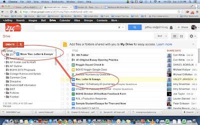 how to move google drive folder