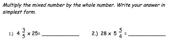 Math Homework Mr Costello S 5th Grade Class