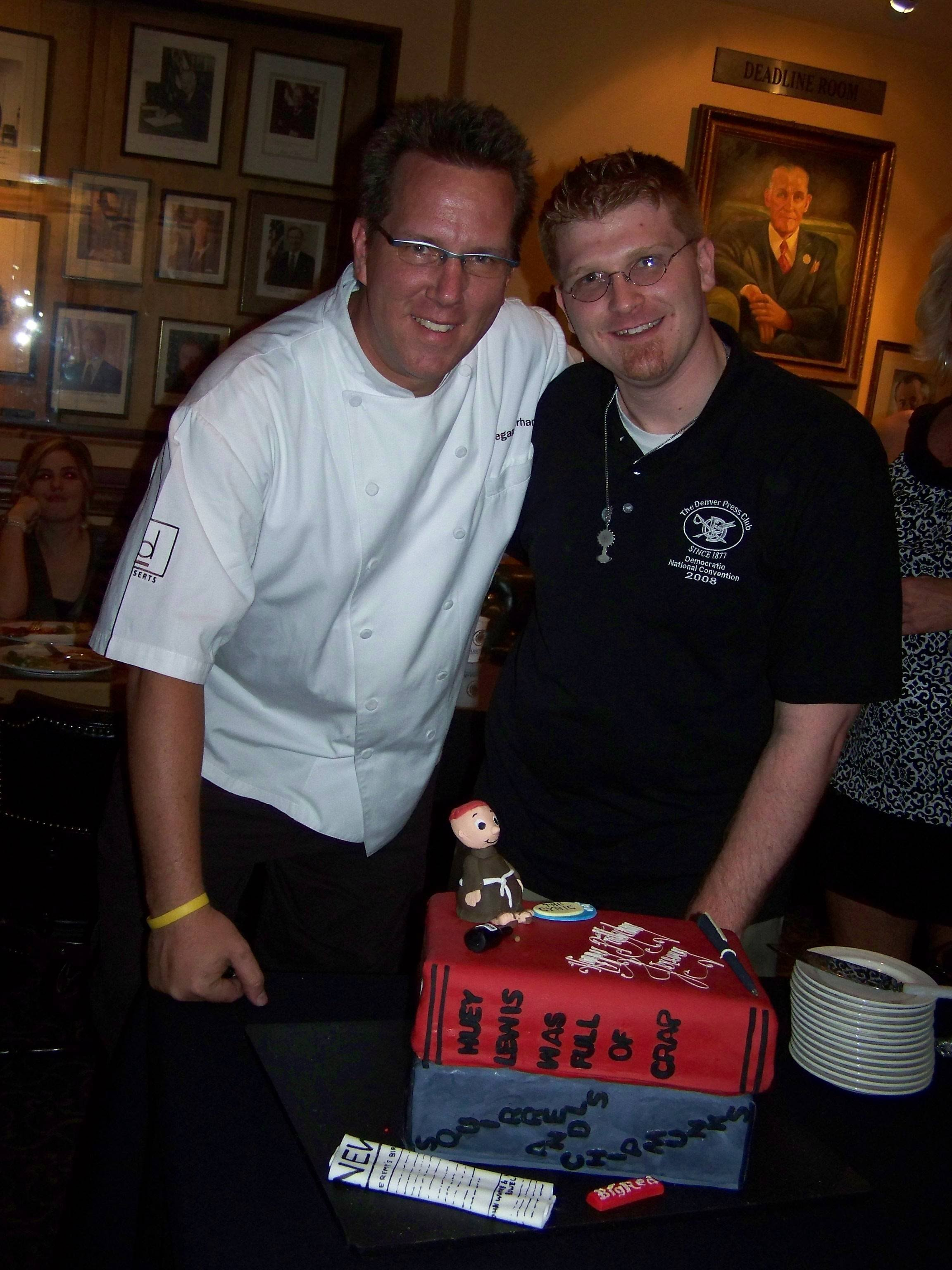 On August 29th, 2008, Jeremy's Friends And Family Gathered At The Denver  Press Club For A Happy Hour And Dinner To Celebrate Jeremy's Birthday