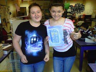 Emily and Addie Enjoying Creativity!