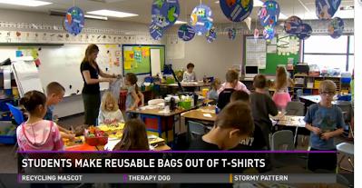 Mrs. Dimino's Second Grade Class on 9 News