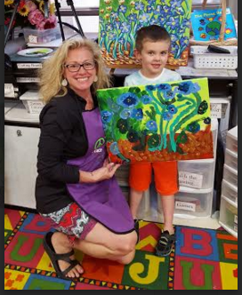 Dane is the next VanGogh from Paint by heART !