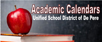 K12 2020 Calendar Academic Calendar   De Pere Board of Education