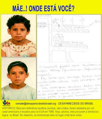 Onde está nossa mãe? DEsaparecidos do Brasil