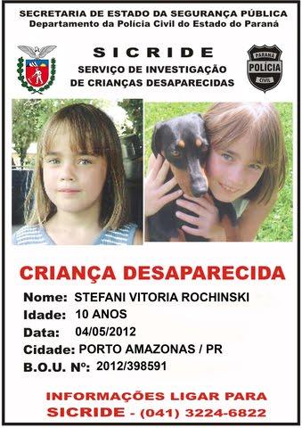 Desaparecidos do Brasil Stefani