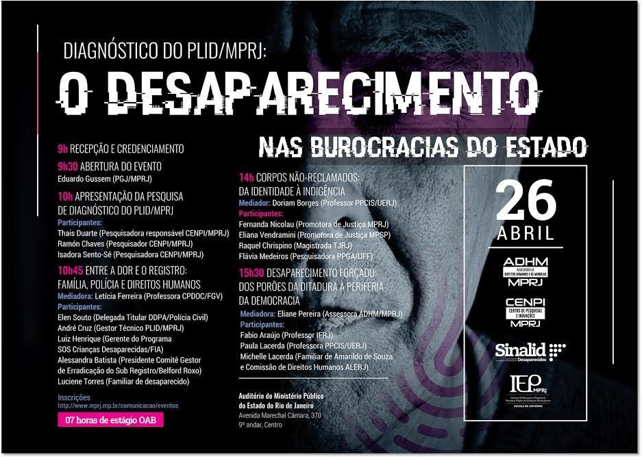 Seminário Desaparecidos do Brasil