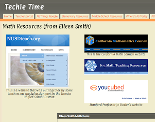 Math Resources (from Eileen Smith)