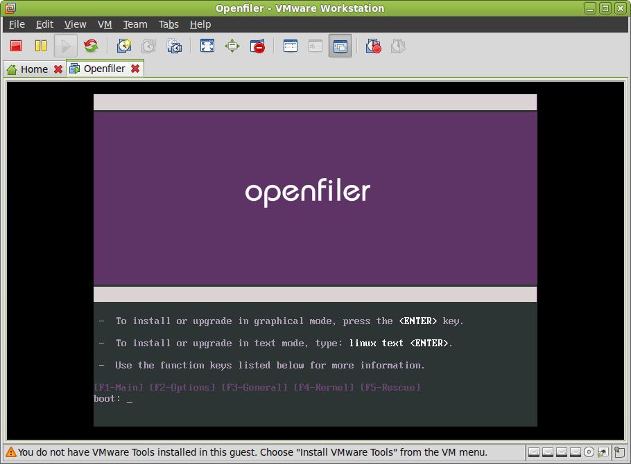 03  Openfiler 2 3 x64 - Documentação de TI no Brasil