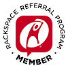 Rackspace Referral Program Member