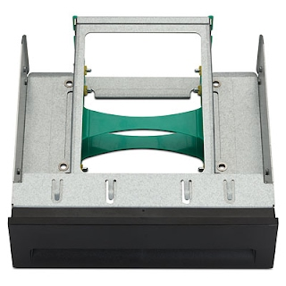 HP 2.5in HDD 2-in-1 Optical Bay Bracket P/N FX615AA