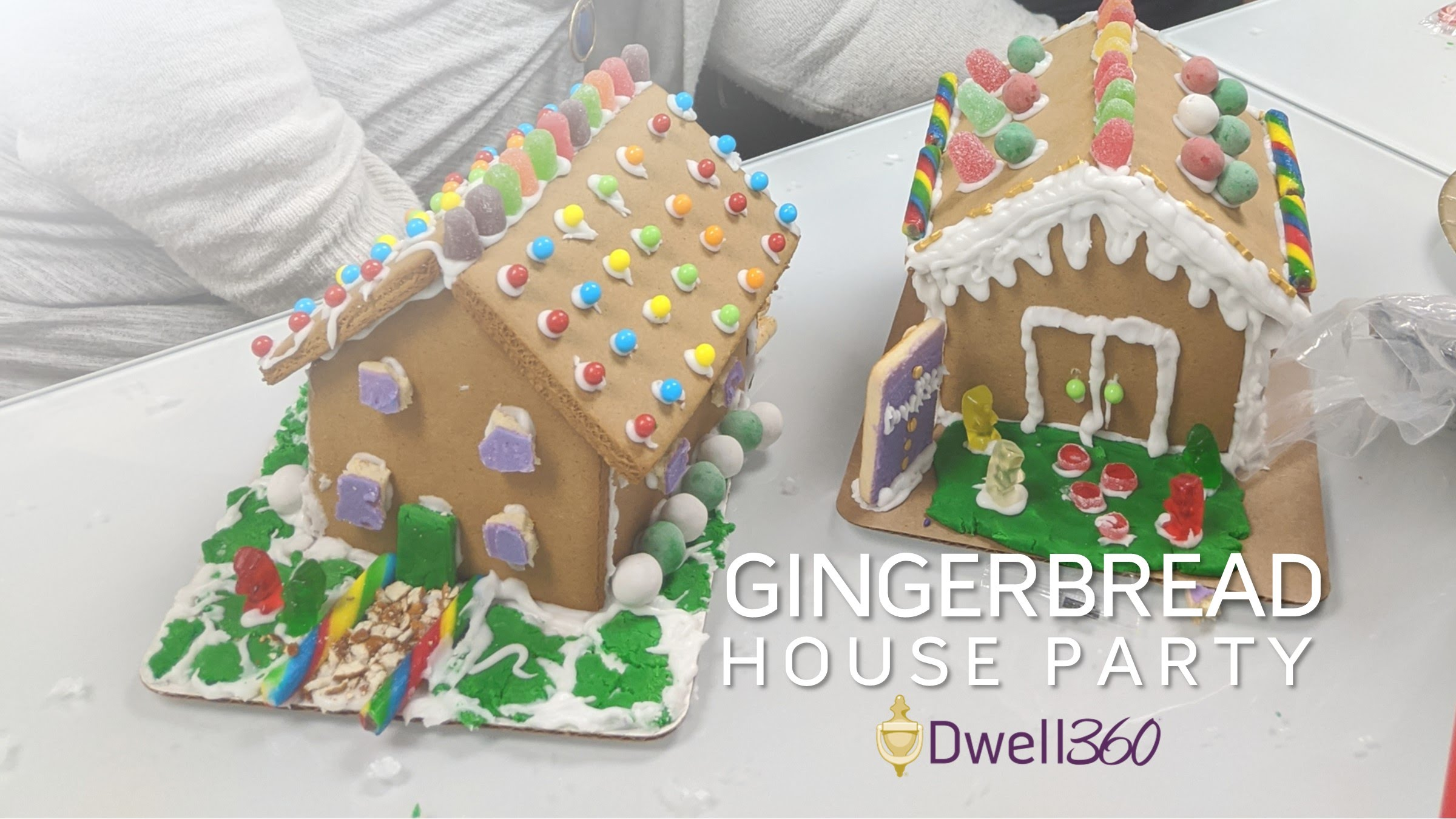 Dwell360 Gingerbread House Party!