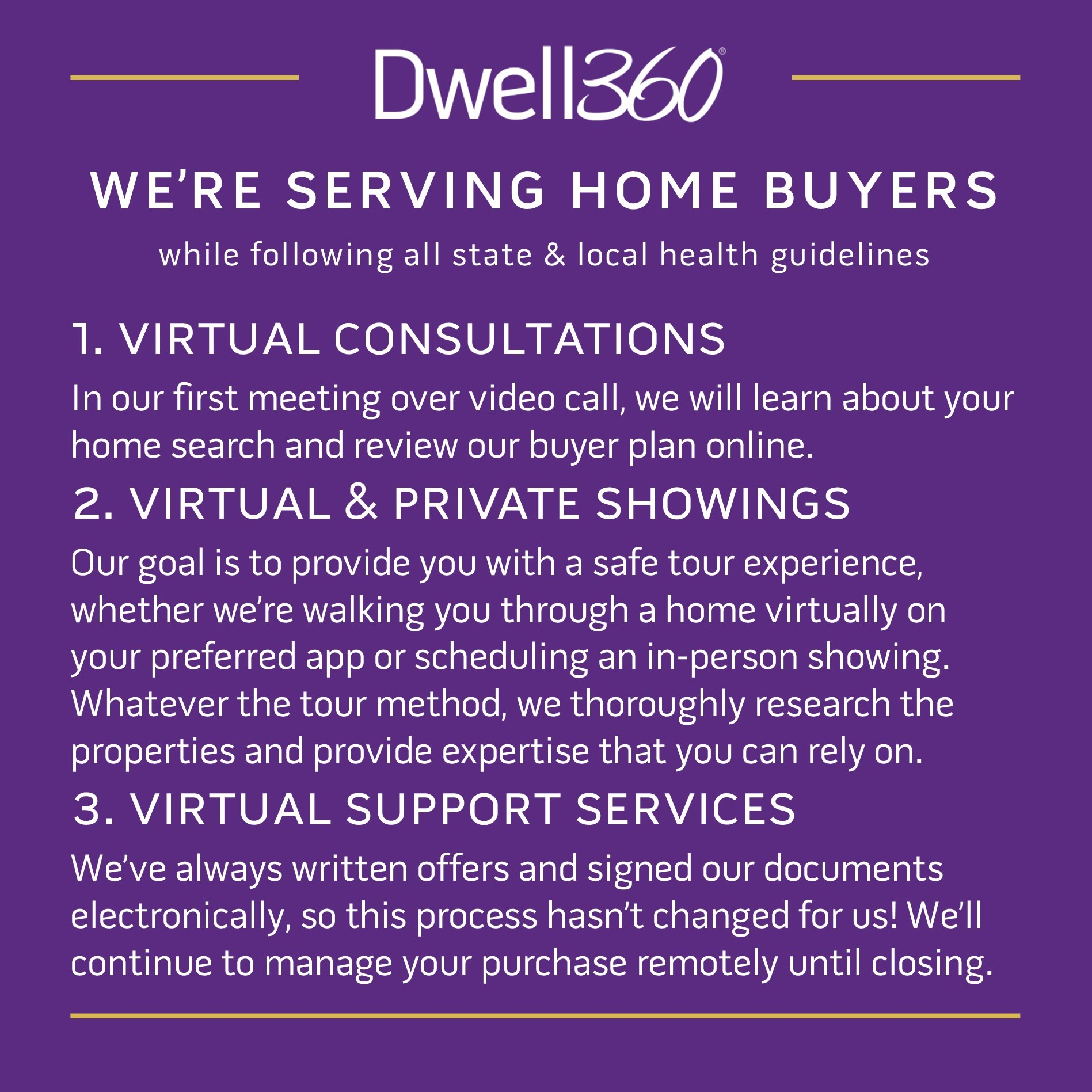 Serving Home Buyers