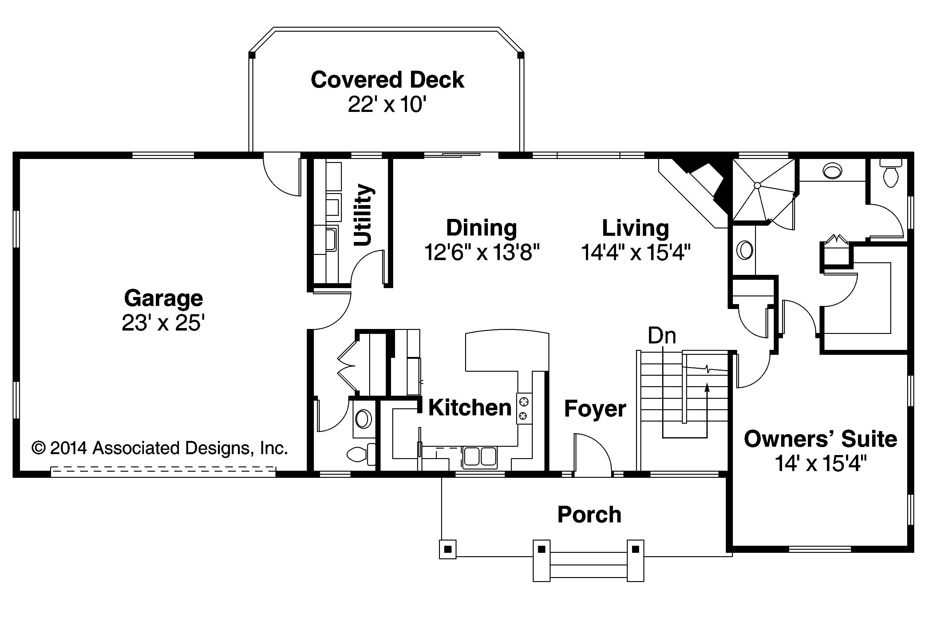 Perfect Gatsby Floorplan Example