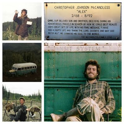 Why do people consider Chris McCandless a hero?