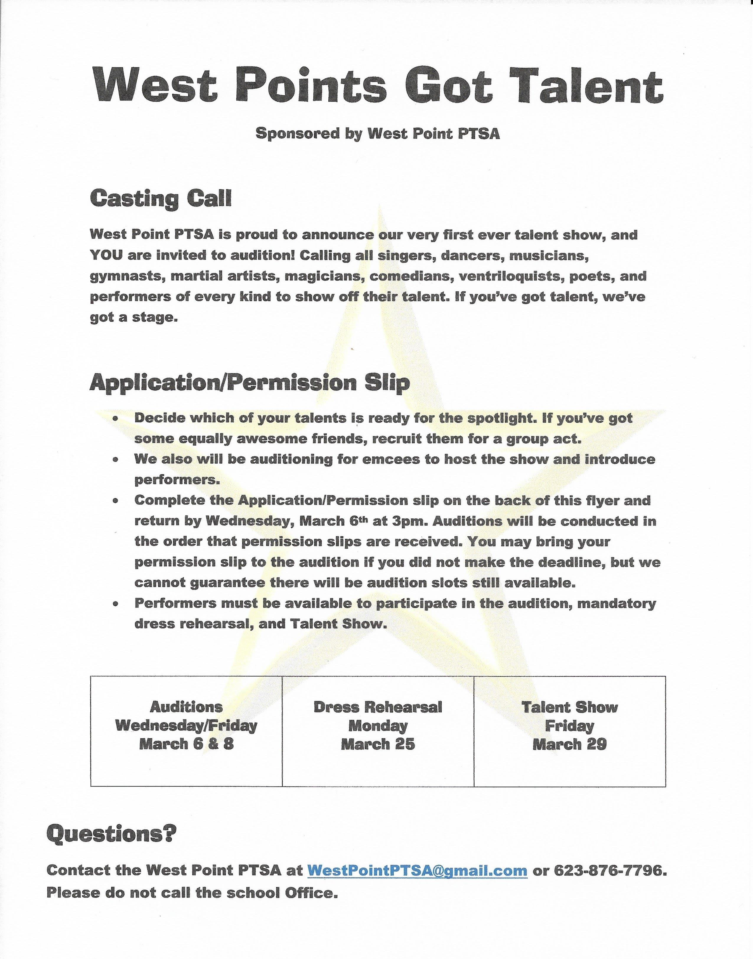 West Point Application Deadline >> West Point Ptsa