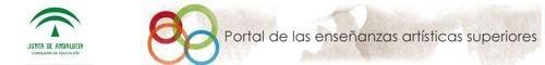 Portal de Enseñanzas Artísticas Superiores en Andalucía