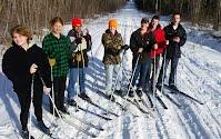 Cross Country Skiing, Maine
