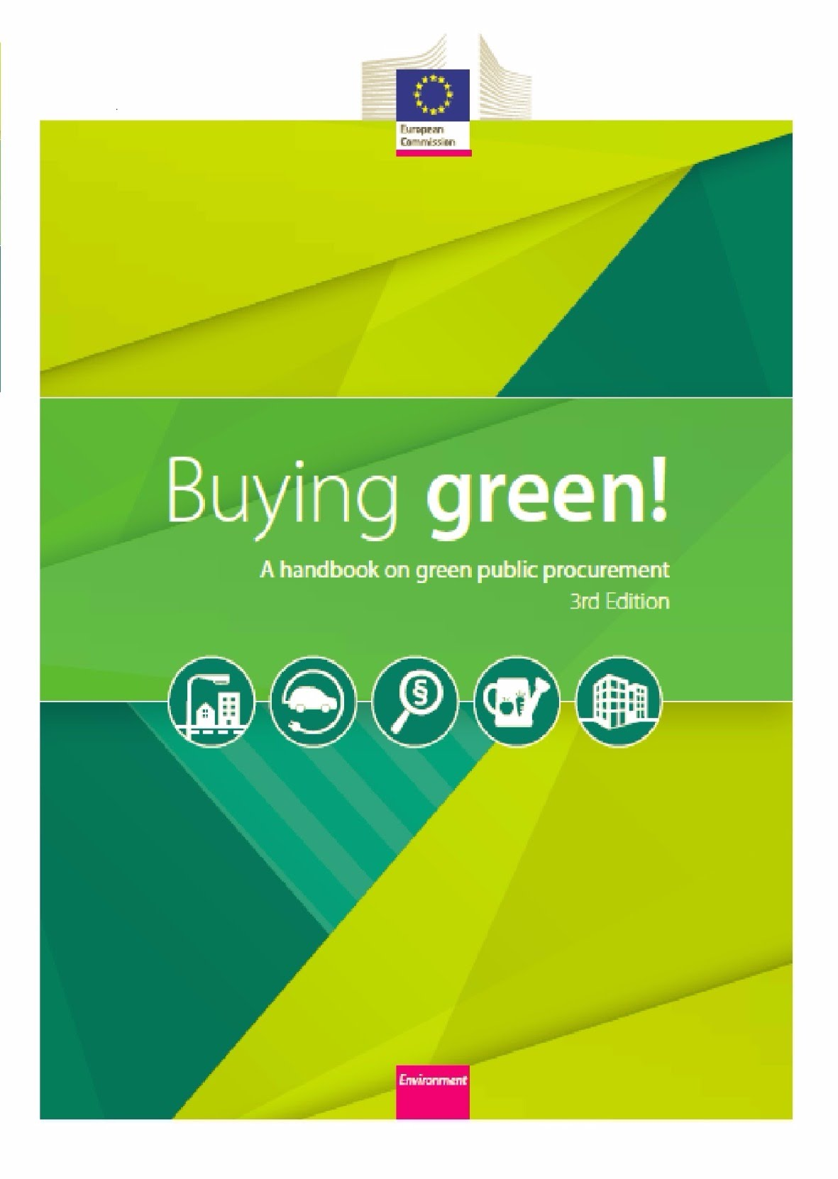 Buying green! A handbook on green public procurement 3rd Edition
