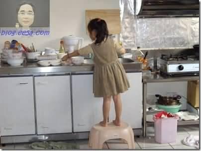 自動自發洗碗