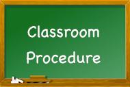 Ms. Quinn's Classroom Procedures