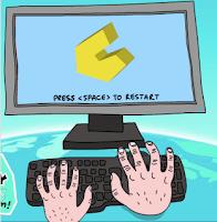 http://www.wordgames.com/finger-frenzy.html