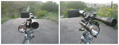 Galaxy Nexus on Riflescope