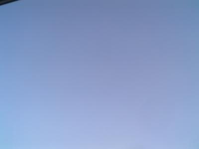 Blue Sky Test Image