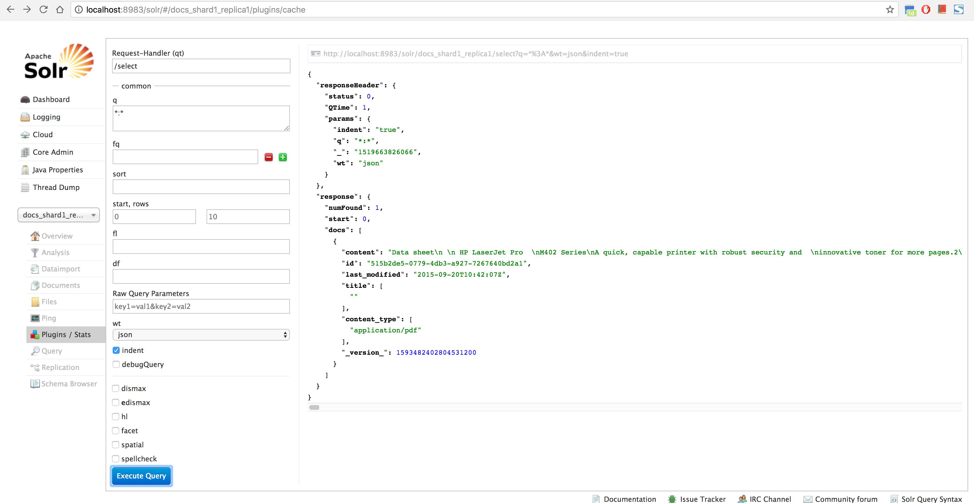Solr: Index pdf, word etc (Tika) - einext_original