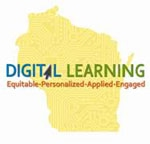 Wisconsin Digital Learning Plan Logo - and link to the plan