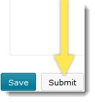 D2L Survey Submit Button