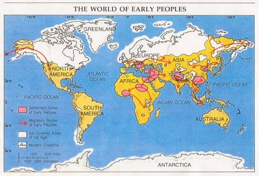 Neolithic Revolution Map Background Information...