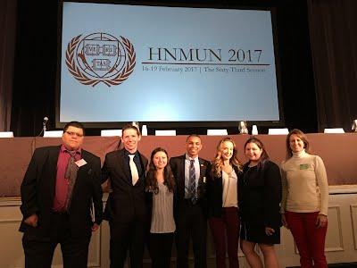 HNMUN 2017 Team