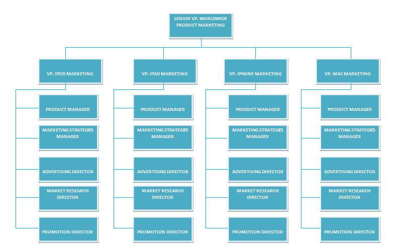A business analysis apples organizational structure