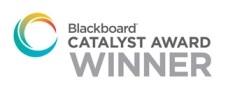 Blackboard Catalyst Award Winner logo