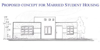 artist conceptual proposed sketch of building
