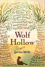 Cover of the novel Wolf Hollow by Lauren Wolk