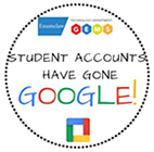 Students have gone Google circle graphic