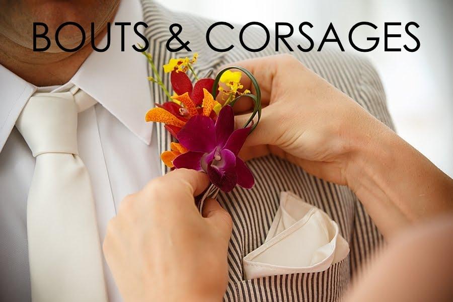 Boutonnières and corsages